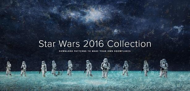 Снежинки в стилистике StarWars своими руками (upd. 2016) - 1