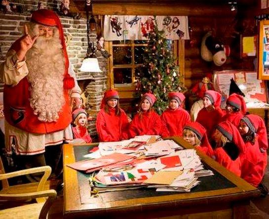 Ученые определили оптимальный для Санта-Клауса город