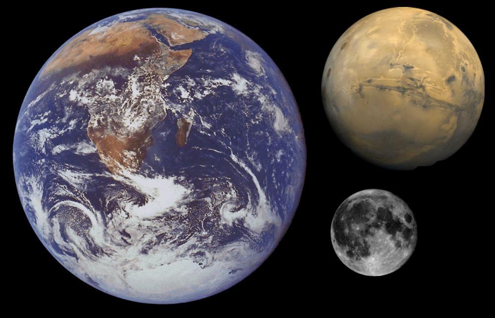 Тяжелый выбор НАСА: полет на Марс или возвращение на Луну - 1