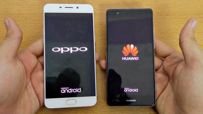 Huawei, Oppo и Vivo могут отгрузить полмиллиарда смартфонов в 2017 году