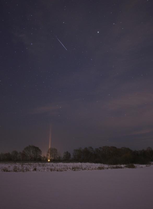 Зимнее небо для новогодних каникул - 13