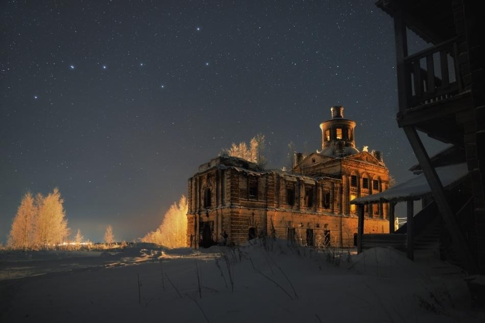 Зимнее небо для новогодних каникул - 7