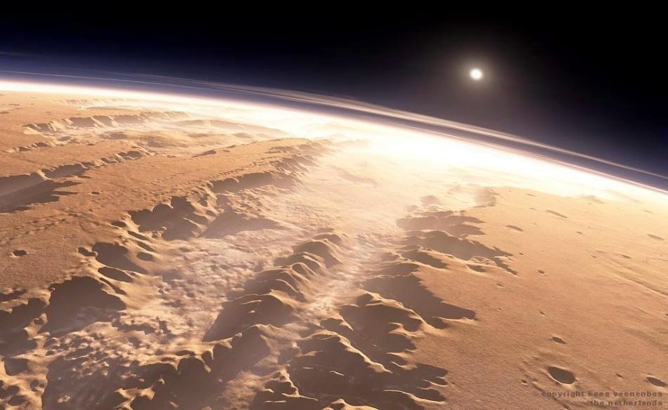 Пролетая над долиной Маринера - 1