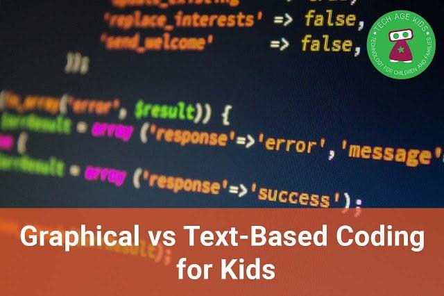 Выбор между визуальным и текстовым программированием для детей - 1