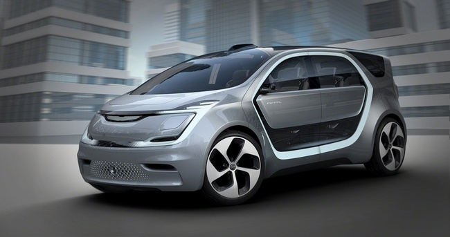 Электромобиль Chrysler Portal сможет распознавать голоса и лица пассажиров - 1