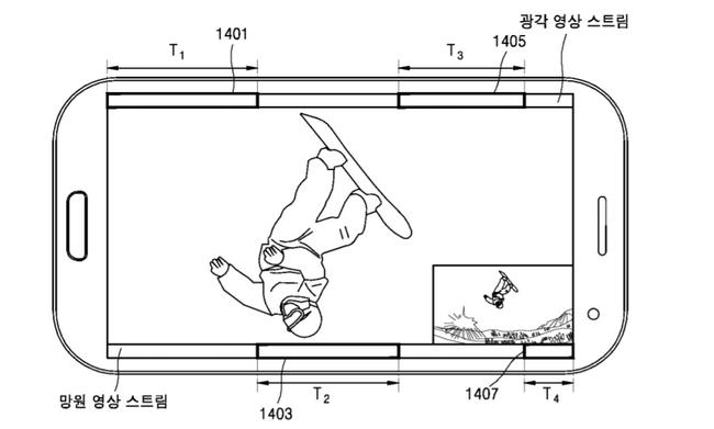 Samsung патентует сдвоенную камеру для своих мобильных устройств