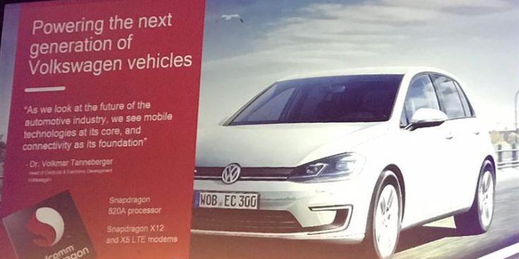 Volkswagen AG и Qualcomm объявили о новом этапе сотрудничества