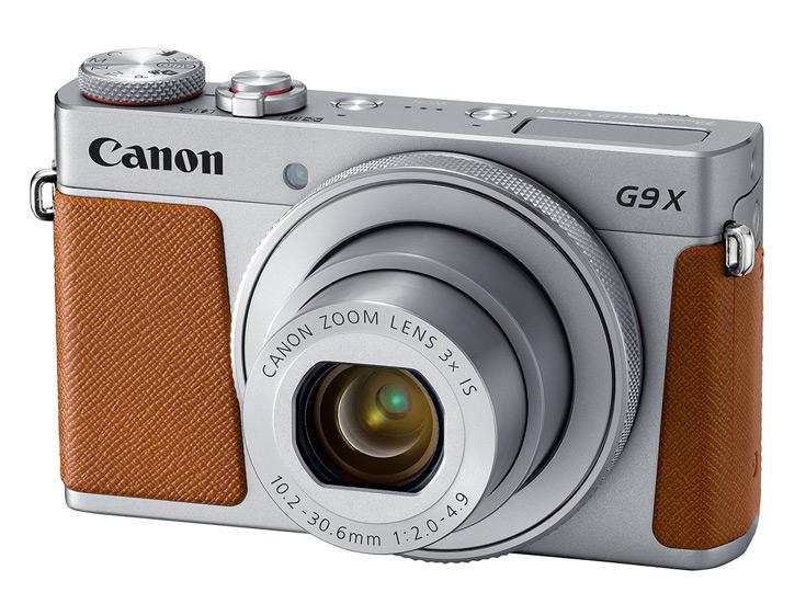 Видоискателя у камеры Canon PowerShot G9 X Mark II нет