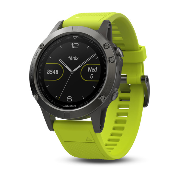 Garmin представила часы Fenix 5