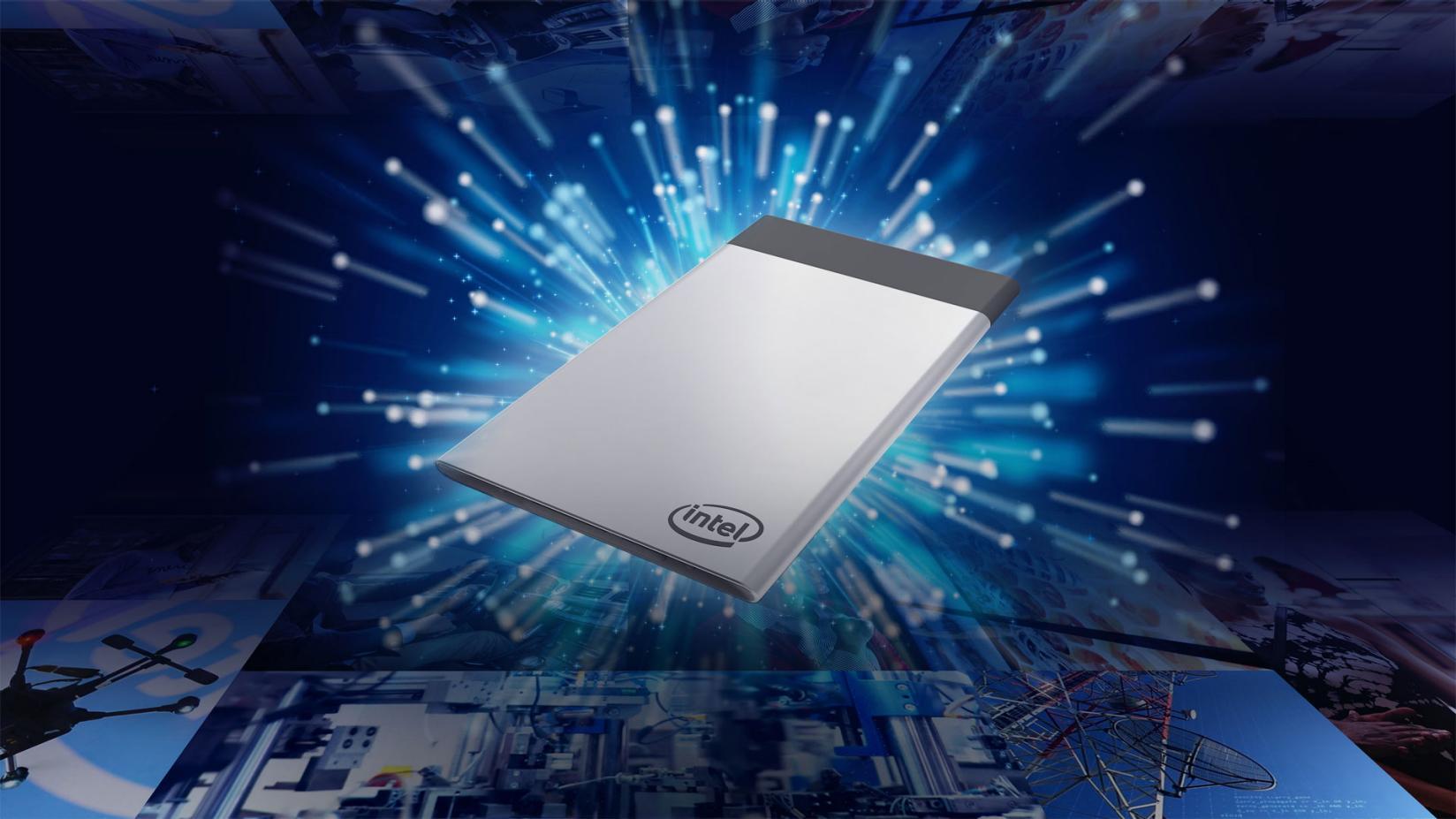 Intel представила компьютер размером с кредитку - 1