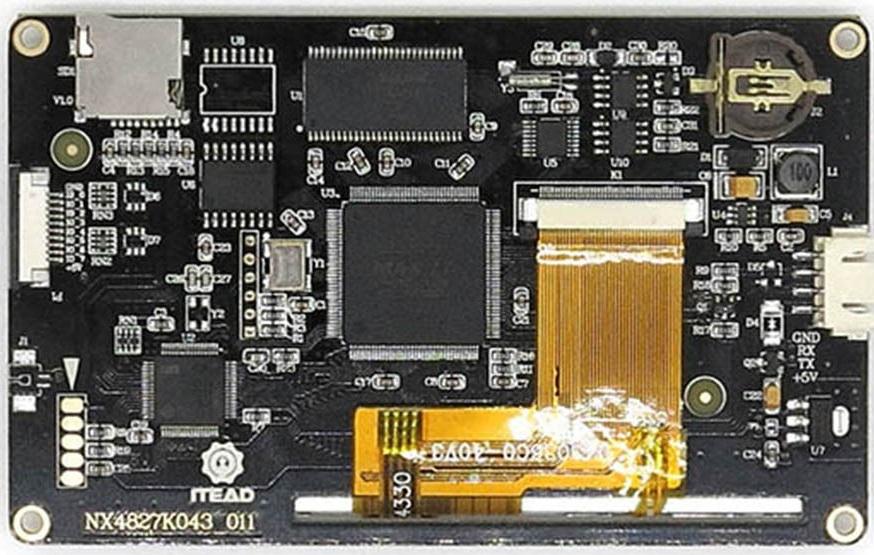 FLProg + Nextion HMI Enhanced - 2
