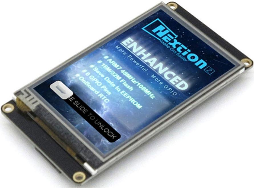 FLProg + Nextion HMI Enhanced - 1