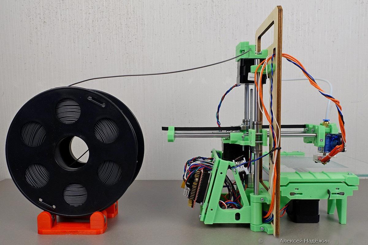 Модульный 3D-принтер «3D-Старт» как источник интереса 3D-кошки - 4