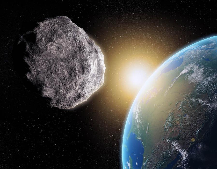 Рядом с Землей пролетел астероид, обнаруженный всего два дня назад - 1