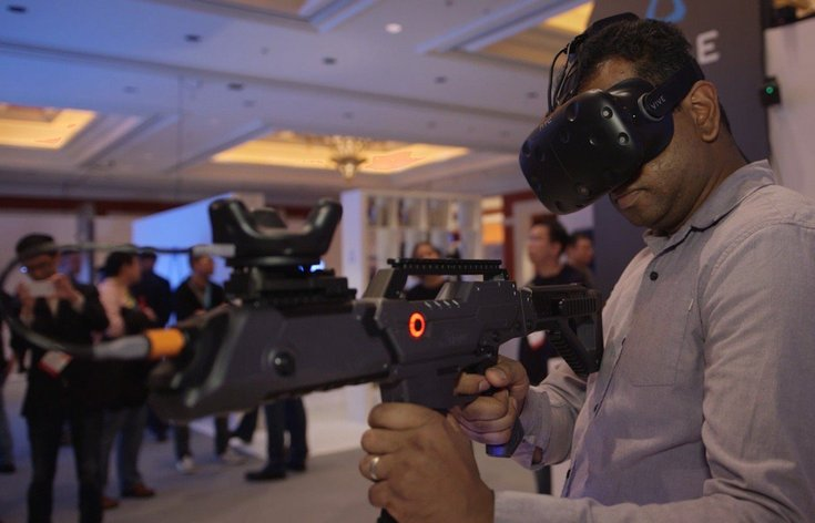 HTC Vive Tracker поможет разрабатывать контроллеры для VR