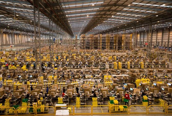 Amazon намерена создать огромное количество новых рабочих мест