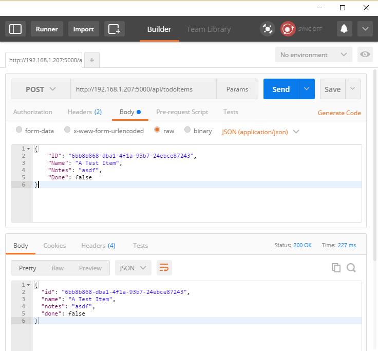 ASP.NET Core: Создание серверных служб для мобильных приложений - 7