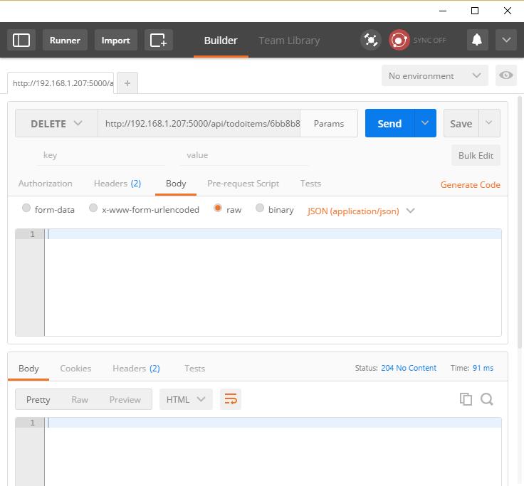 ASP.NET Core: Создание серверных служб для мобильных приложений - 9