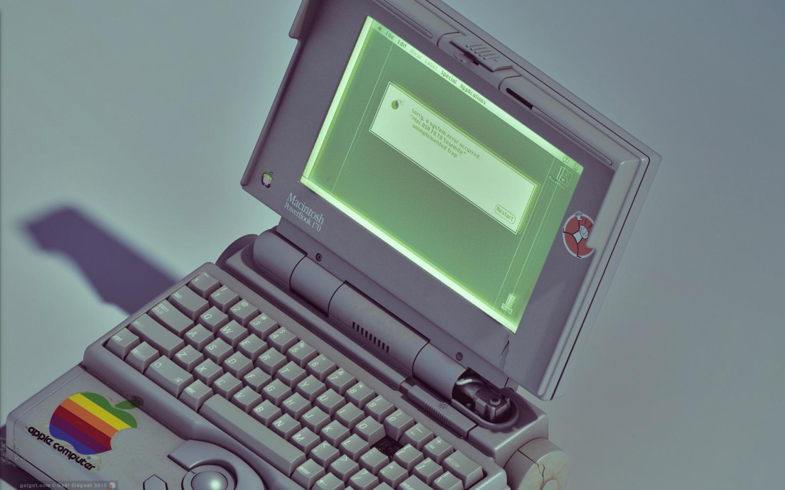 Apple PowerBook – ноутбуки, с которых всё началось - 1
