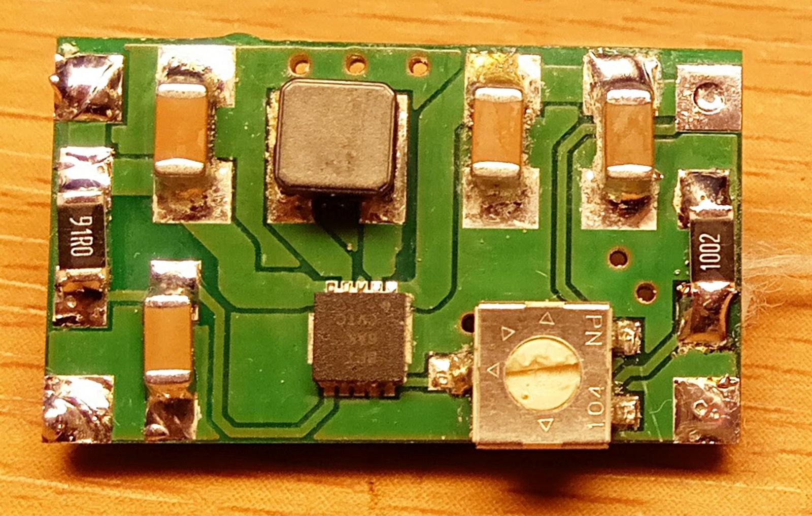 Почти универсальный конвертер на TPS63000, или общепит для самых маленьких - 5