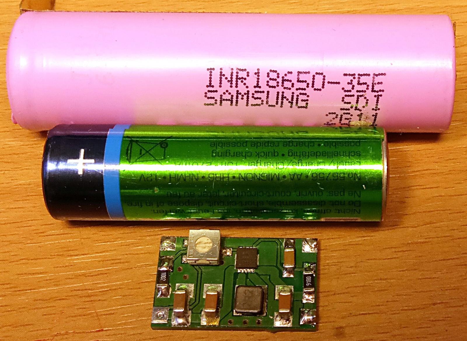 Почти универсальный конвертер на TPS63000, или общепит для самых маленьких - 6