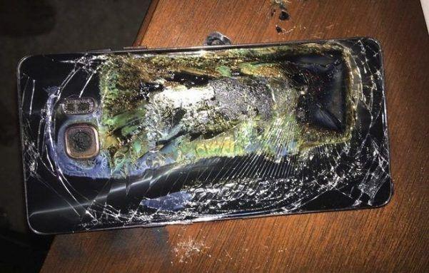 Причину возгораний Samsung Galaxy Note7 озвучат через неделю