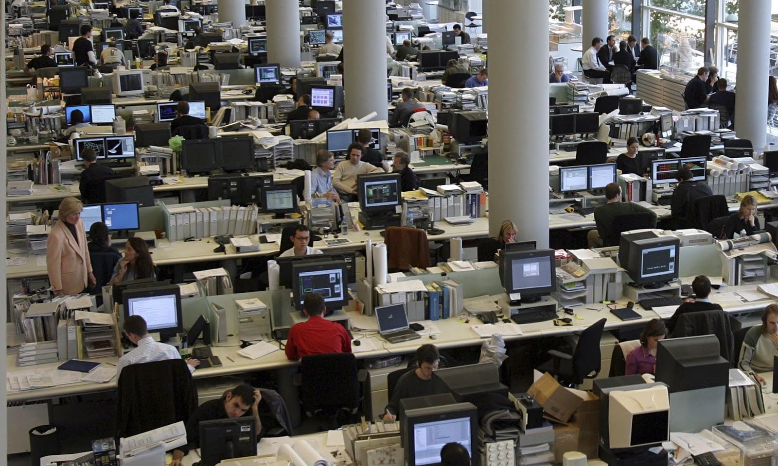 Чем хорош или плох офис открытого типа. Разбор условий - 1