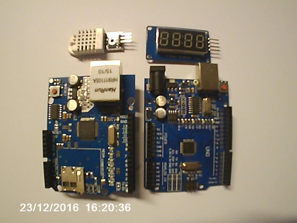 Погодная станция из Arduino и Orienteer - 2