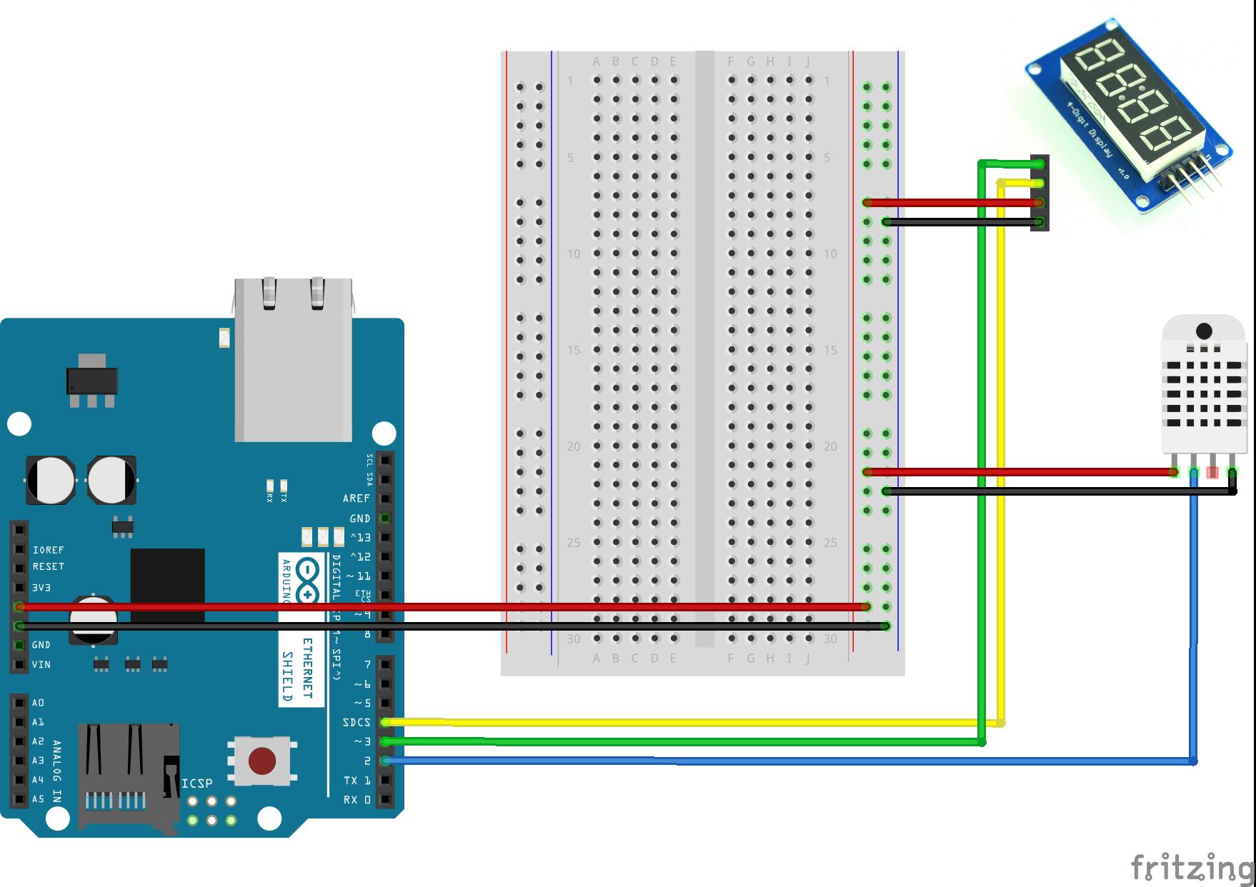 Погодная станция из Arduino и Orienteer - 3