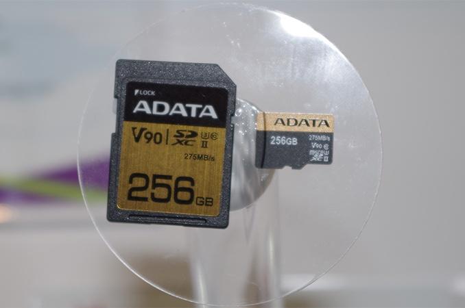 Новые карты памяти Adata соответствуют классу V90