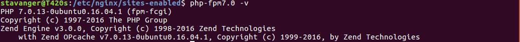 Установка и базовая настройка nginx и php-fpm для разработки проектов локально в Ubuntu 16.04 - 8