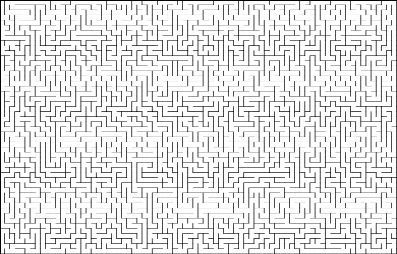 Классические алгоритмы генерации лабиринтов. Часть 1: Вступление - 1