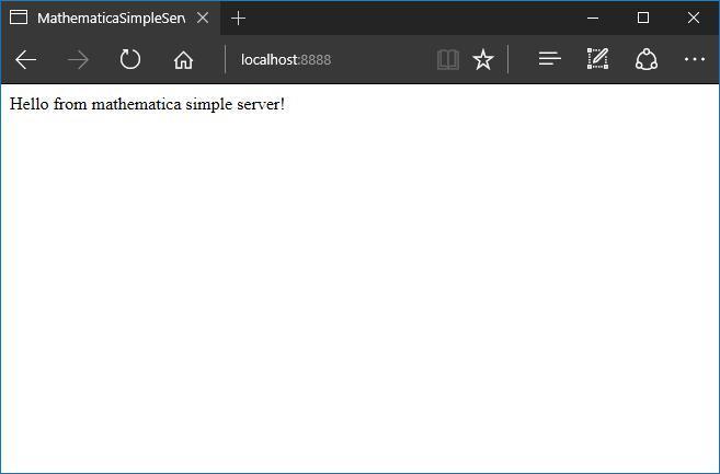 Простой http-сервер на Wolfram Language - 2