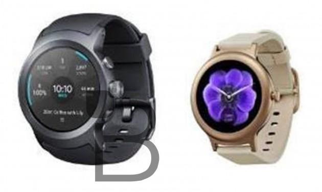 Появилось изображение часов LG Watch Sport и Watch Style