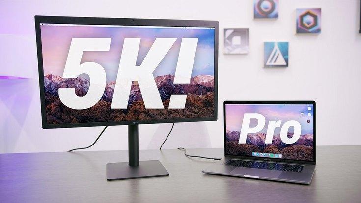 Мониторы LG UltraFine 5K доставляют владельцам хлопоты