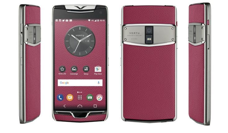 Vertu представила смартфон Constellation 2017
