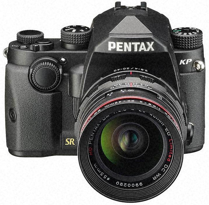 В камере Pentax KP установлен датчик изображения формата APS-C разрешением 24 Мп