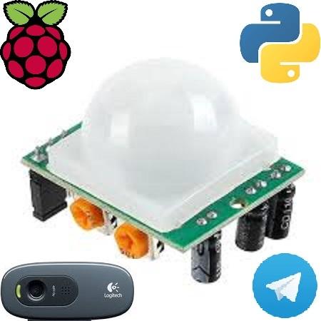 Простой вариант системы видеонаблюдения в помещении с использованием датчика движения и Python на платформе Raspberry - 1