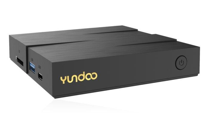 Медиаплеер Yundoo Y8 получил корпус необычной формы