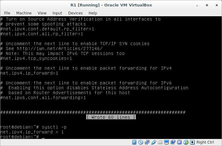 Лабораторная работа «Обучаемся настраивать сети в GNU-Linux» - 18