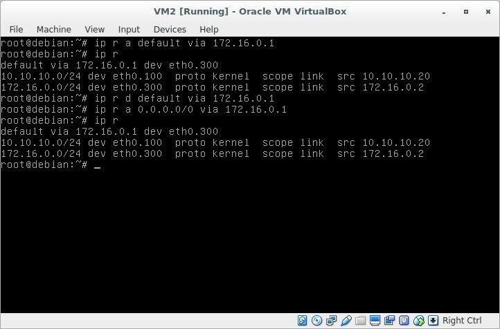 Лабораторная работа «Обучаемся настраивать сети в GNU-Linux» - 22