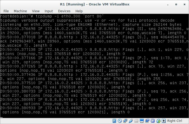 Лабораторная работа «Обучаемся настраивать сети в GNU-Linux» - 30