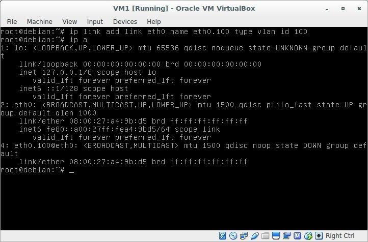 Лабораторная работа «Обучаемся настраивать сети в GNU-Linux» - 5