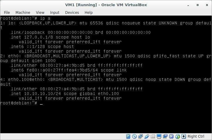 Лабораторная работа «Обучаемся настраивать сети в GNU-Linux» - 8