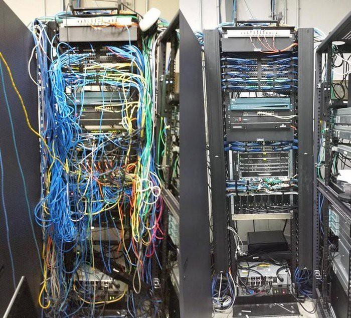 Рай перфекциониста или каким должен быть кабель-менеджмент - 16