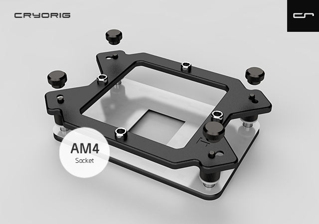 На бесплатное крепление могут рассчитывать все владельцы изделий Cryorig, совместимых с процессорами AMD
