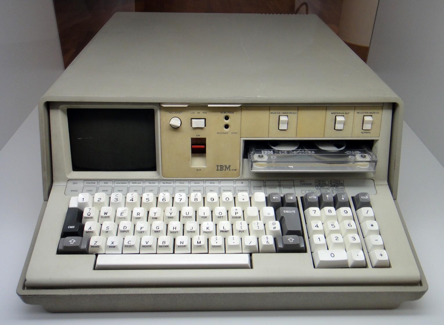 IBM Model 5100: первый портативный компьютер от IBM, вышедший 40 лет назад - 1