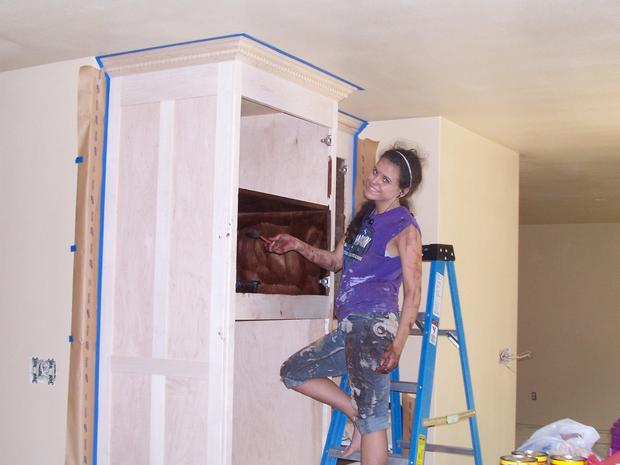 Женщина построила дом по руководствам с YouTube - 9