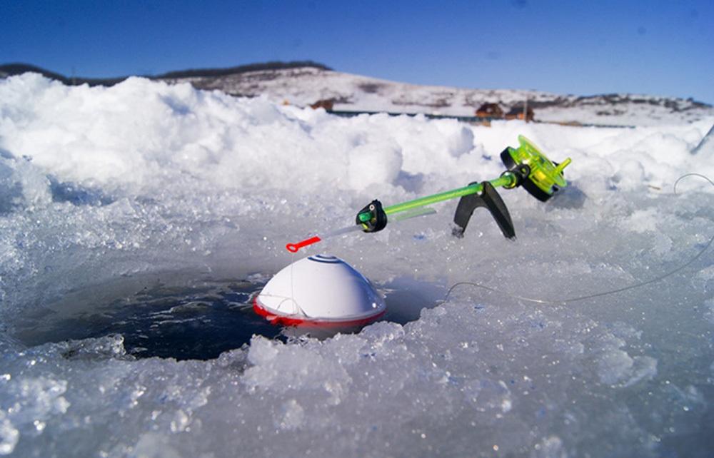 Особенности зимней рыбалки с эхолотом - 1
