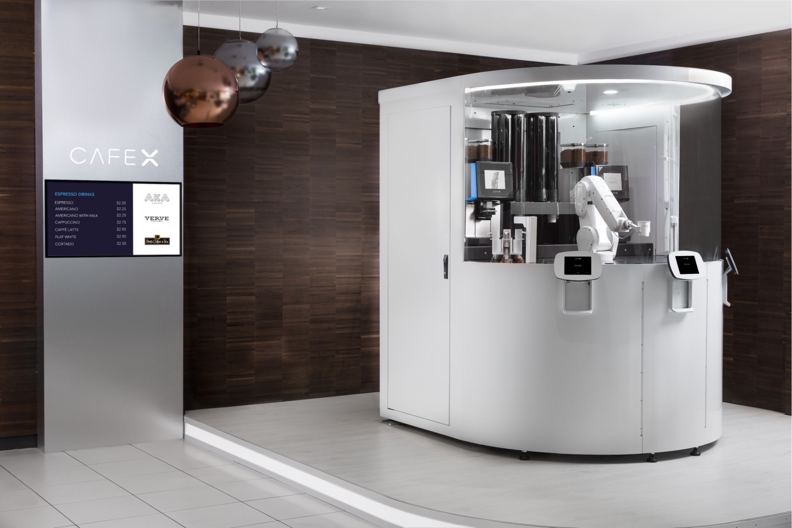 В Сан-Франциско открылась полностью автоматизированная кофейня - 1